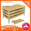 Nuseryのための環境に優しいWooden Bed Designs Baby Movable Bed