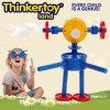 Brinquedos engraçados do bloco de apartamentos das crianças do brinquedo da instrução do modelo da forma