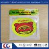 Stickers van pvc van het Gezicht van de Glimlach van de bevordering de Lichte Weerspiegelende