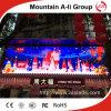Muestra al aire libre a todo color de la visualización de LED del Hq P10