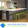 Armadi da cucina grigi della mobilia modulare di rivestimento dell'impiallacciatura (ZY 1031)