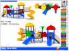 High Quality Eco - Friendly LLDPE Kids Outdoor Plastic Play Sets