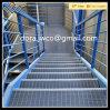 Grating van het Staal van de hete ONDERDOMPELING Gegalvaniseerde Ladder