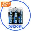 Lr6 de Batterij van de Grootte aa Am3 1.5V met de Verpakking van de Kaart van de Blaar