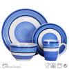Insieme di pranzo poco costoso di ceramica di Handpainting di nuovo disegno
