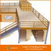 Piso de entresuelo modificado para requisitos particulares estante de tormento de la plataforma del metal/piso de entresuelo de acero
