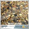 سوداء بيضاء أحمر [يلّوو فين] مختلطة لون حصاة نهر حجارة زخرفة