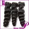 安い製品の加工されていないバージンのインドの毛の拡張は波を緩める