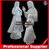 Jesus Christus-Marmorstatuejesus-Inner-göttliche Gnaden-Marmor-Skulptur