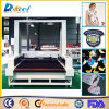 CCD Visual Camera Laser Cutting Machine Grand Taille Tissu / Cuir / Logo / Étiquette / Cutter en tissu