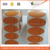 Обозначьте PVC бумаги печатание прозрачным изготовленный на заказ стикером собственной личности напечатанным прилипателем