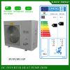 O quarto do aquecimento de assoalho do inverno de Extramely -25c + o automóvel frios de Dhw degelam o calefator de água do UL da bomba de calor do ar de 12kw/19kw/35kw/70kw/105kw Evi