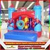 Castillo de salto inflable del puente inflable al aire libre del equipo del parque de atracciones