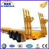 中国のトレーラーの製造業者の頑丈なLowbedのトラックのトレーラー