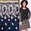 30s упрощают сплетенную ткань рейона печатание для платья девушок