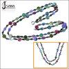 Ожерелье цветастых ювелирных изделий способа вышитый бисером (CTMR130410011)