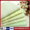 、印刷される染められる、白の100%年の綿織物