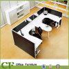 Desk a forma di U Workstation con Credenza per Small Spaces