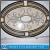 Marfil/Golden crema Marble Water Jet Medallion per Floor