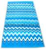 Handdoek van het Strand van het fluweel de Reactieve Afgedrukte