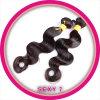 Remyの人間のインドの毛のよこ糸(KBL-IH-BW)