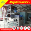 Separador magnético seco de alta eficiência para concentrado de zircon
