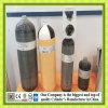 Cylindre en aluminium entièrement enveloppé de revêtement de fibre de carbone