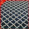 L'acier inoxydable a serti par replis le treillis métallique, treillis métallique serti par replis d'écran d'acier du carbone