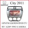 Voiture DVD GPS pour la ville 2011 de Honda