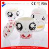 Heet verkoop Ceramische Mok met Druk en Deksel