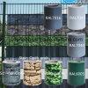 Cerca colorida Anti-ULTRAVIOLETA del jardín de la pantalla de la tira del PVC de 450g el 19cm*35m