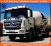 Caminhões do misturador concreto de Foton 8*4