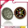 Монетка сувенира с двойной стороной и ретро конструкцией