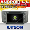 닛산 B17 2012-2013년 (W2-A7051)를 위한 Witson Android 4.4 System Car DVD