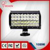 éclairage LED Bar de 10inch 108W avec CE/RoHS/IP68