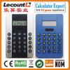 8 dígitos se doblan la calculadora Handheld de la potencia (LC333)