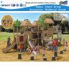 Campo de jogos ao ar livre das crianças da selva com corrediças (HF-10402)