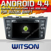 Witson Android 4.4 Car DVD para Suzuki Swift com A9 o Internet DVR Support da ROM WiFi 3G do chipset 1080P 8g