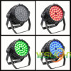 Luz 36PCS*3W RGB tri LED de la colada de la etapa LED del precio de fábrica con el Ce, RoHS