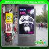 Affissione a cristalli liquidi dello schermo piano di WiFi di alta luminosità del contrassegno di Digitahi del basamento del pavimento per fare pubblicità
