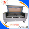 Alta qualidade e máquina de estaca rápida do laser (JM-1580T-CCD)