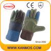 De Handschoenen van het Werk van het Leer van de Bedrijfsveiligheid van het Meubilair van de Zweep van de regenboog (31010)