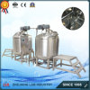 Double prix liquide revêtu d'acier inoxydable électrique/vapeur de chauffage de réservoir de mélange
