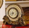Polyresin con le decorazioni/collezioni domestiche d'ottone - orologio/struttura/specchio della foto