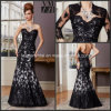Lace Jacket Evening Dresses Black Mother of The Bride Dresses M71034