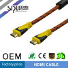 Sipu 1.4V фиксируя кабель оплетки HDMI для локальных сетей поддержки PS4