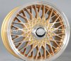 Rodas populares da liga do carro de um projeto de 17/18 de polegada, bordas da roda da réplica