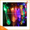 물 하락 20/30LED 크리스마스 축제를 위한 태양 끈 빛은 꾸민다