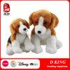 El juguete relleno embroma el juguete suave del perro de juguete de la felpa del perrito