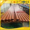 Extrusion en aluminium de Handrailing des graines en bois de Customzied pour le balcon